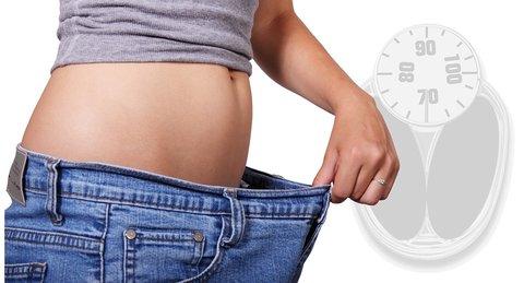 gewichtstoename overgang