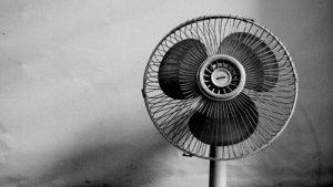afkoelen met een ventilator