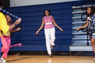 touwtjes springen